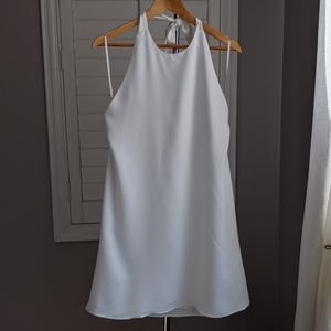 Coverii halter style backless dress